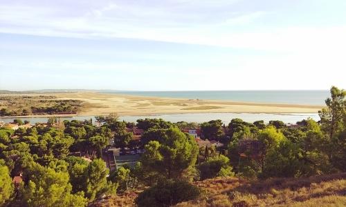 La Franqui et sa plage des Coussoules - © Locations-Leucate.com
